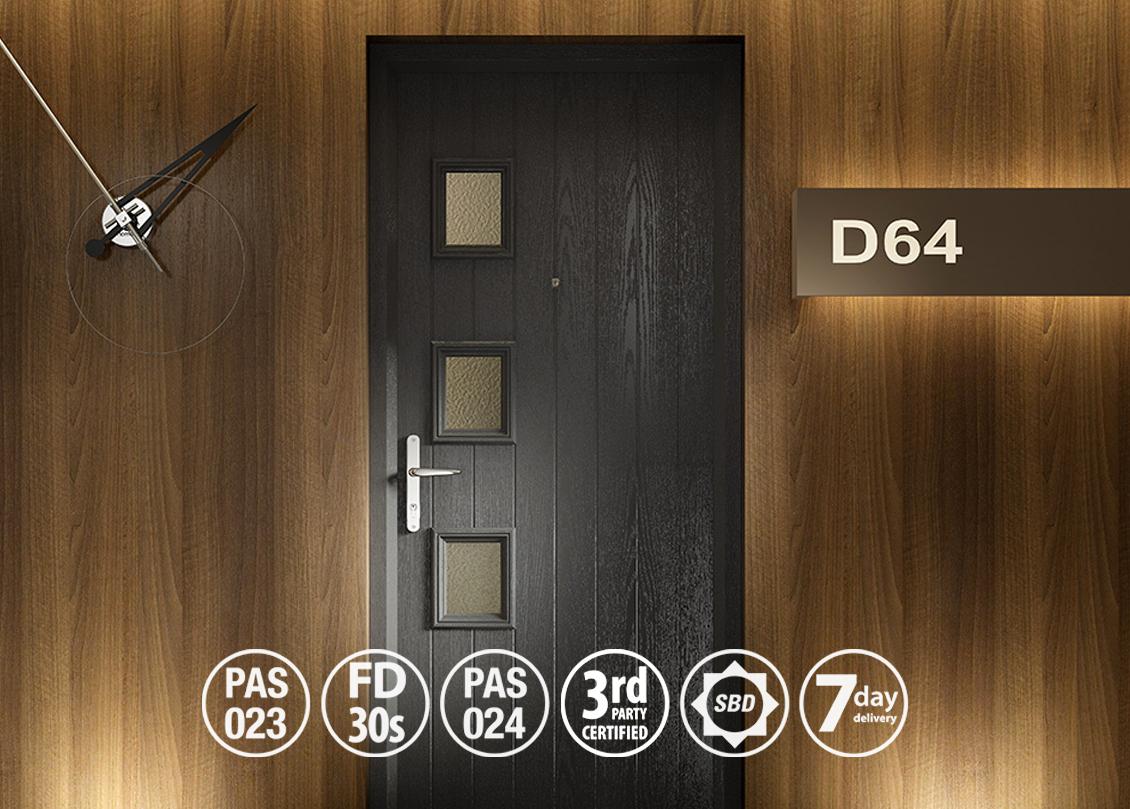 door stop fire door